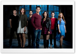 Teen Wolf Cast HD Wide Wallpaper for Widescreen