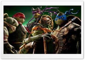 Teenage Mutant Ninja Turtles Ultra HD Wallpaper for 4K UHD Widescreen desktop, tablet & smartphone