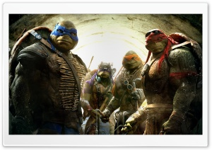 Teenage Mutant Ninja Turtles 2014 Movie Ultra HD Wallpaper for 4K UHD Widescreen desktop, tablet & smartphone