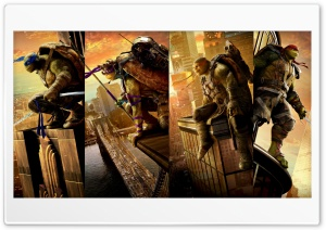 Teenage Mutant Ninja Turtles Out of the Shadows Ultra HD Wallpaper for 4K UHD Widescreen desktop, tablet & smartphone