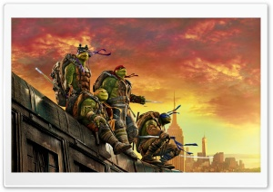 Teenage Mutant Ninja Turtles Out of the Shadows HD Wide Wallpaper for 4K UHD Widescreen desktop & smartphone