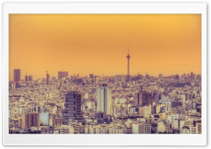 Tehran 0700 PM HD Wide Wallpaper for Widescreen