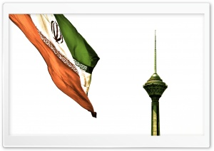 Tehran Milad Tower HD Wide Wallpaper for Widescreen