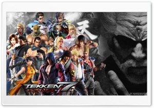 Tekken 7 HD Wide Wallpaper for 4K UHD Widescreen desktop & smartphone
