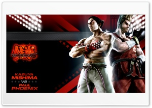 Tekken 6 Cast HD Wide Wallpaper for Widescreen