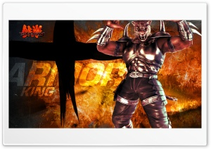 Tekken 6 King HD Wide Wallpaper for Widescreen