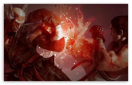 Tekken 7 Heihachi Vs Kazuya 4k Hd Desktop Wallpaper For 4k Ultra