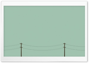 Telegraph Poles Vector Art HD Wide Wallpaper for 4K UHD Widescreen desktop & smartphone