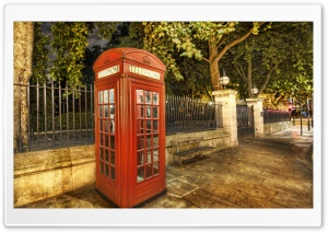 Telephone Box HD Wide Wallpaper for Widescreen
