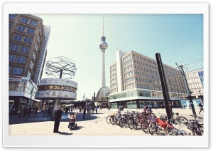 Television Tower Berlin HD Wide Wallpaper for 4K UHD Widescreen desktop & smartphone