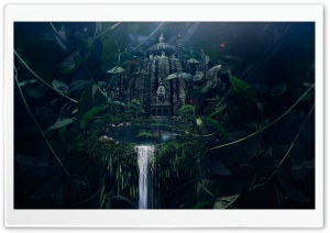 Temple HD Wide Wallpaper for Widescreen