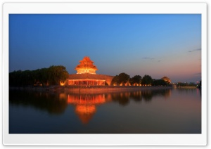 Temple, Beijing, China HD Wide Wallpaper for Widescreen
