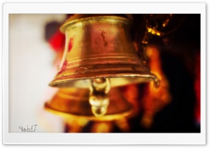 Temple Bell HD Wide Wallpaper for Widescreen