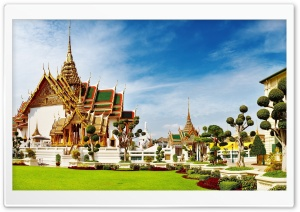 Temple In Thailand HD Wide Wallpaper for Widescreen