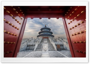 Temple Of Heaven, Beijing, China HD Wide Wallpaper for 4K UHD Widescreen desktop & smartphone