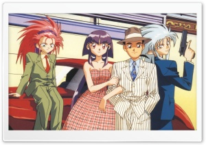 Tenchi Muyo! HD Wide Wallpaper for Widescreen