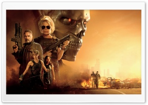 Terminator Dark Fate 2019 Movie Ultra HD Wallpaper for 4K UHD Widescreen desktop, tablet & smartphone