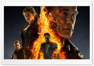 Terminator Genisys HD Wide Wallpaper for 4K UHD Widescreen desktop & smartphone