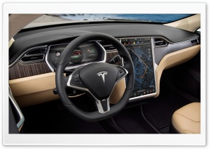 Tesla Inside HD Wide Wallpaper for Widescreen