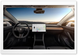 Tesla Model 3 Electric Car -...