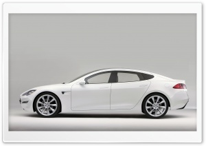 Tesla Model S HD Wide Wallpaper for Widescreen