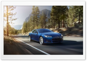 Tesla Model S 2016 HD Wide Wallpaper for Widescreen