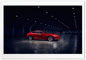 Tesla Model S Electric Car Profile Ultra HD Wallpaper for 4K UHD Widescreen desktop, tablet & smartphone