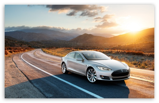 Tesla Model S in Silver, Desert Road HD wallpaper for Wide 16:10 5:3 Widescreen WHXGA WQXGA WUXGA WXGA WGA ; HD 16:9 High Definition WQHD QWXGA 1080p 900p 720p QHD nHD ; Standard 4:3 5:4 3:2 Fullscreen UXGA XGA SVGA QSXGA SXGA DVGA HVGA HQVGA devices ( Apple PowerBook G4 iPhone 4 3G 3GS iPod Touch ) ; Tablet 1:1 ; iPad 1/2/Mini ; Mobile 4:3 5:3 3:2 16:9 5:4 - UXGA XGA SVGA WGA DVGA HVGA HQVGA devices ( Apple PowerBook G4 iPhone 4 3G 3GS iPod Touch ) WQHD QWXGA 1080p 900p 720p QHD nHD QSXGA SXGA ;