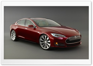Tesla Model S Signature, Front View HD Wide Wallpaper for Widescreen