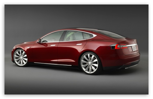 Tesla Model S Signature, Rear View HD wallpaper for Wide 16:10 5:3 Widescreen WHXGA WQXGA WUXGA WXGA WGA ; HD 16:9 High Definition WQHD QWXGA 1080p 900p 720p QHD nHD ; Standard 3:2 Fullscreen DVGA HVGA HQVGA devices ( Apple PowerBook G4 iPhone 4 3G 3GS iPod Touch ) ; Mobile 5:3 3:2 16:9 - WGA DVGA HVGA HQVGA devices ( Apple PowerBook G4 iPhone 4 3G 3GS iPod Touch ) WQHD QWXGA 1080p 900p 720p QHD nHD ;