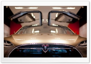 Tesla Model X Santana Row Ultra HD Wallpaper for 4K UHD Widescreen desktop, tablet & smartphone