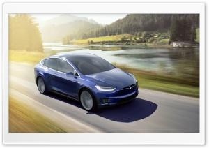 Tesla Model X SUV Electric Car - quickest SUV in the world Ultra HD Wallpaper for 4K UHD Widescreen desktop, tablet & smartphone