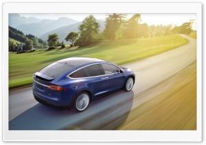 Tesla Model X SUV Electric Car Rear Ultra HD Wallpaper for 4K UHD Widescreen desktop, tablet & smartphone