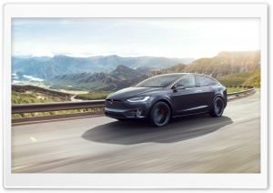 Tesla Model X SUV Electric Car Travel Ultra HD Wallpaper for 4K UHD Widescreen desktop, tablet & smartphone