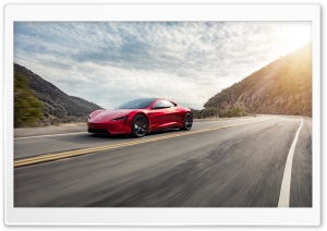 Tesla Roadster Electric Supercar Fastest Car Ever Ultra HD Wallpaper for 4K UHD Widescreen desktop, tablet & smartphone