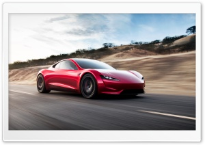 Tesla Roadster Electric Supercar Quickest Car in the World - Road Ultra HD Wallpaper for 4K UHD Widescreen desktop, tablet & smartphone