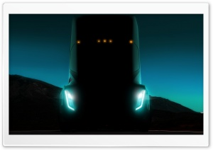 Tesla Semi Electric Truck Front Ultra HD Wallpaper for 4K UHD Widescreen desktop, tablet & smartphone