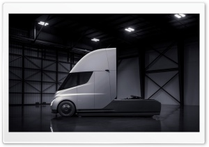Tesla Semi Hangar Ultra HD Wallpaper for 4K UHD Widescreen desktop, tablet & smartphone