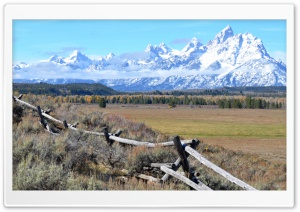 Teton Range HD Wide Wallpaper for Widescreen