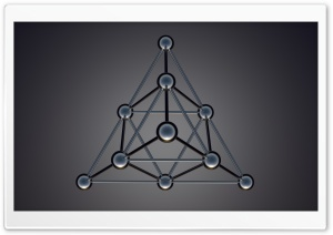 Tetrahedron HD Wide Wallpaper for 4K UHD Widescreen desktop & smartphone