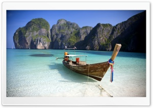 Thailand Beach HD Wide Wallpaper for Widescreen