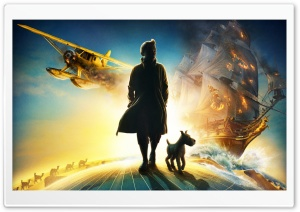 The Adventures of Tintin (2011) HD Wide Wallpaper for Widescreen