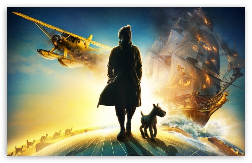 The Adventures of Tintin (2011) HD wallpaper for Wide 16:10 5:3 Widescreen WHXGA WQXGA WUXGA WXGA WGA ; HD 16:9 High Definition WQHD QWXGA 1080p 900p 720p QHD nHD ; Standard 4:3 3:2 Fullscreen UXGA XGA SVGA DVGA HVGA HQVGA devices ( Apple PowerBook G4 iPhone 4 3G 3GS iPod Touch ) ; iPad 1/2/Mini ; Mobile 4:3 5:3 3:2 16:9 - UXGA XGA SVGA WGA DVGA HVGA HQVGA devices ( Apple PowerBook G4 iPhone 4 3G 3GS iPod Touch ) WQHD QWXGA 1080p 900p 720p QHD nHD ;