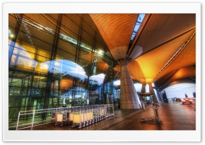 The Airport In Kuala Lumpur HD Wide Wallpaper for 4K UHD Widescreen desktop & smartphone