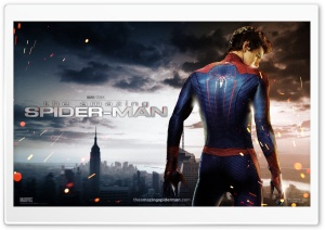 The Amazing Spider Man 2012 HD Wide Wallpaper for Widescreen