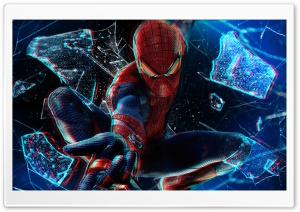 The Amazing Spider-Man 3D HD Wide Wallpaper for Widescreen