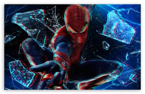 Download The Amazing Spider Man 3D HD Wallpaper