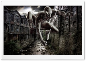 The Amazing Spider Man Artwork HD Wide Wallpaper for Widescreen
