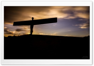 The Angel Of The North HD Wide Wallpaper for 4K UHD Widescreen desktop & smartphone