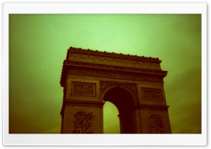The Arc De Triomphe De Letoile HD Wide Wallpaper for 4K UHD Widescreen desktop & smartphone
